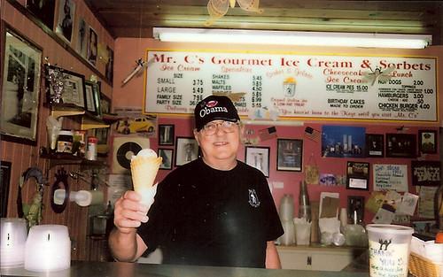 ice cream guy, rad