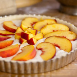 Fredericksburg Peach Cream Cheese Tart
