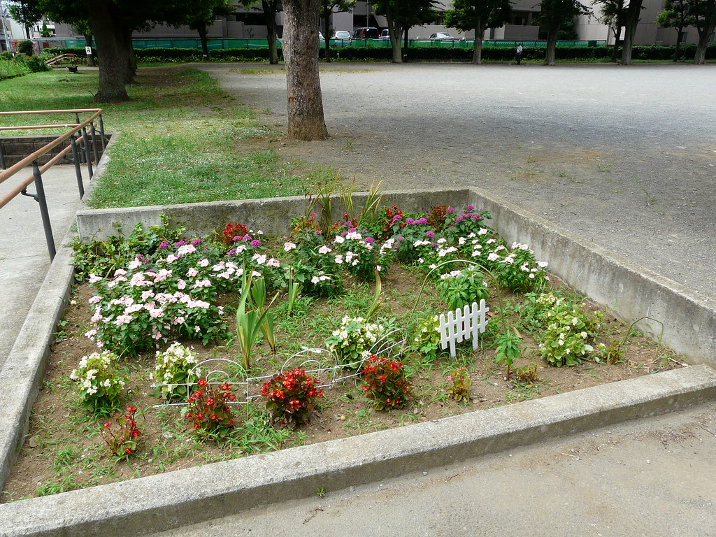 Memorial Garden in Neighbourhood Park