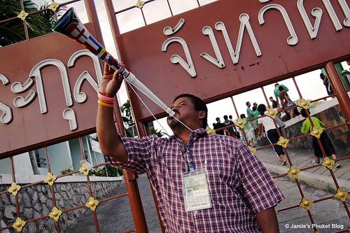 Vuvuzela in Phuket!