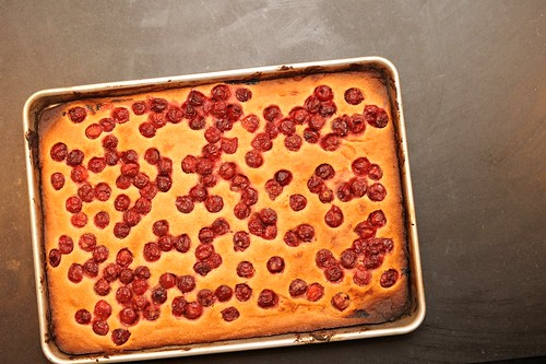hungarian sour cherry cake
