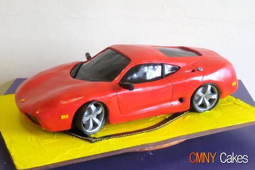 Ferrari 360 Modena Cake