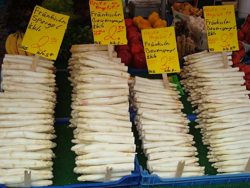 菜市仔的白蘆筍