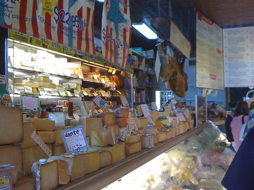 more cheeses at Zingerman's deli