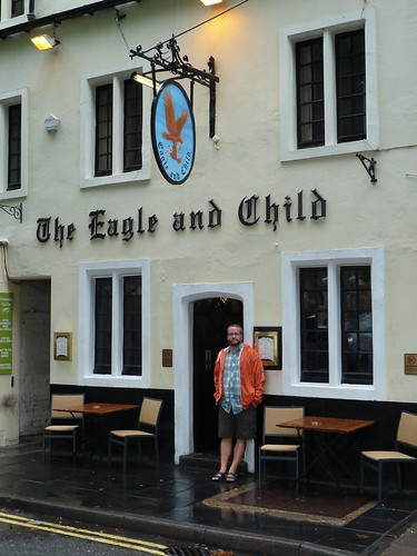 Outside The Eagle and Child