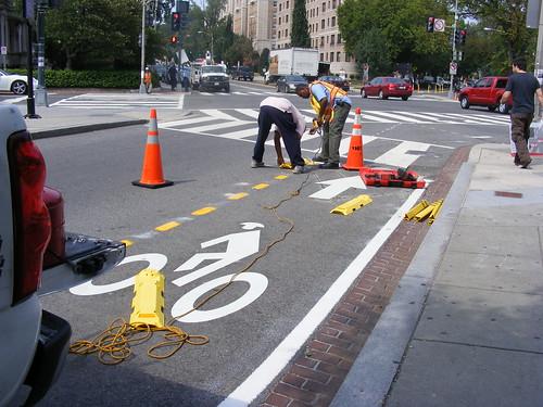 Contraflow Bike Lanes