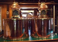 Beautiful copper pots (josephleenovak) Tags: bourbon distillery makersmark redwax lorettokentucky