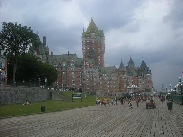 Quebec, una ciudad medieval en Canadá