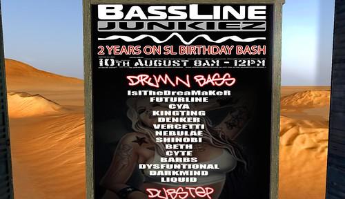 bassline junkiez 2 year anniversary