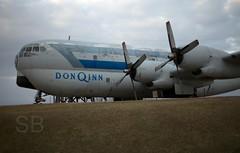 Don Q Inn Boeing C-97 (Studiobaker) Tags: trip wisconsin plane four inn military 4 engine roadtrip number ugly beast don former boeing q usaf propeller wi serial civilian beastly 377 c97 dodge