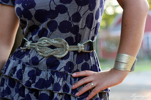 bracelet and belt