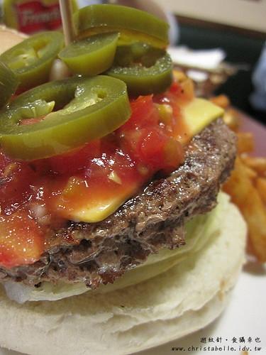 第八街美式漢堡墨西哥辣椒仔細看