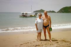 On Sidari beach, Corfu. (pj's memories) Tags: beach sunglasses seaside greece briefs slip speedo brief corfu speedos