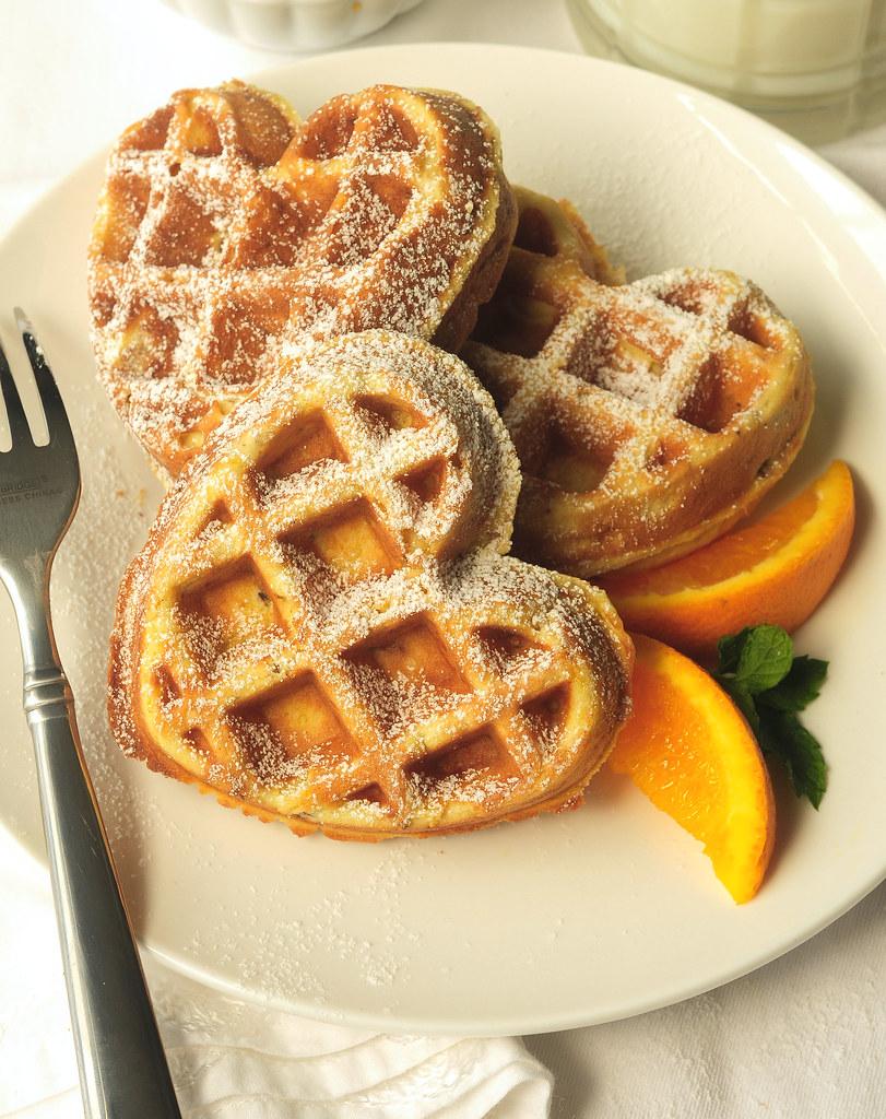 orange waffle post