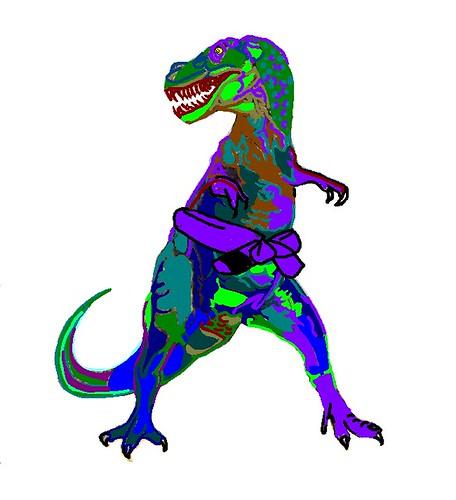 BJJ t_rex no gi by Liam Wandi