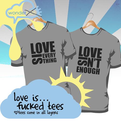 <(wonderkids)! love is...tees