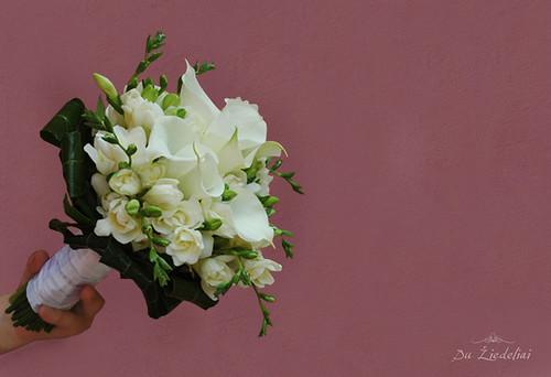 Своими руками букет невесты