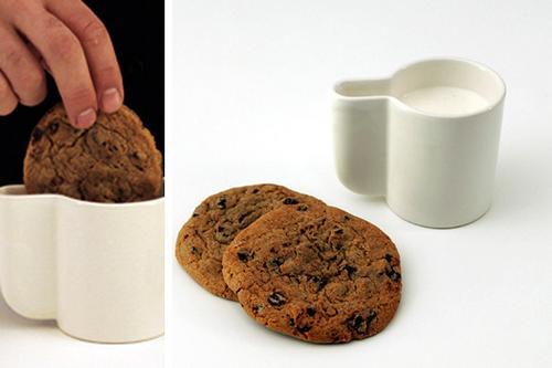 酷產品:適合泡餅乾的杯子