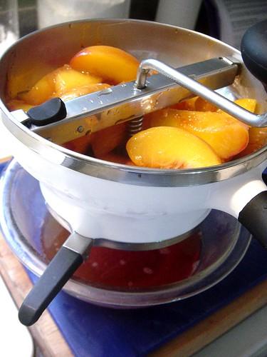 Peaches & Cream Panna Cotta