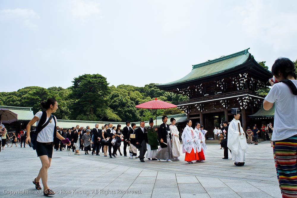 Wedding @ Meiji Jingu Shrine, Tokyo, Japan