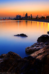 My Home (A.alFoudry) Tags: city blue sea summer orange seascape reflection building beach water rock architecture sunrise canon landscape eos high rocks cityscape silent slow mark tide full shore silence lee frame shutter land 5d kuwait usm fullframe scape 06 ramadan effect canonef2470mmf28lusm ef kuwaiti hightide q8 abdullah  mark2 2470mm 2910  gnd  || f28l kuw q80 q8city xnuzha alfoudry leefilter  abdullahalfoudry foudryphotocom mark|| 5d|| canoneos5d|| mk|| canoneos5dmark||