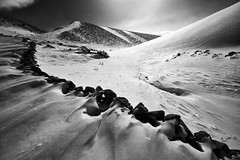 ( Ali Shokri / www.alishokri.com) Tags: winter light bw sun snow mountains nature landscape shadows iran azerbaijan tabriz alishokri