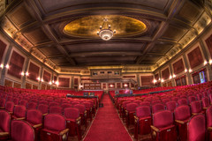 Inside The Zeiterion Performing Arts Center (Frank C. Grace (Trig Photography)) Tags: ma theater pentax newengland gypsy hdr k7 newbedford photomatix thez zeiterion