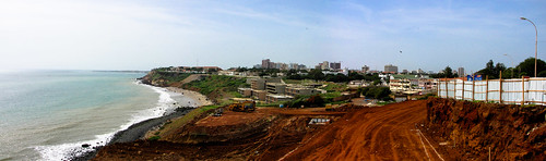 Overlooking Dakar