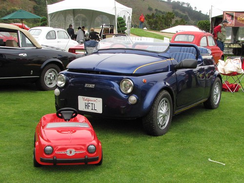 Fiat 500 Barchetta (customized in New Zealand)