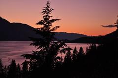 Canada (Surrealplaces) Tags: sunset mountain lake canada britishcolumbia kootenay