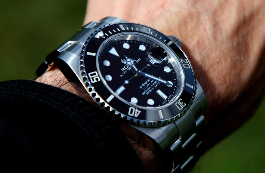 rolex submariner on wrist wwwpixsharkcom images