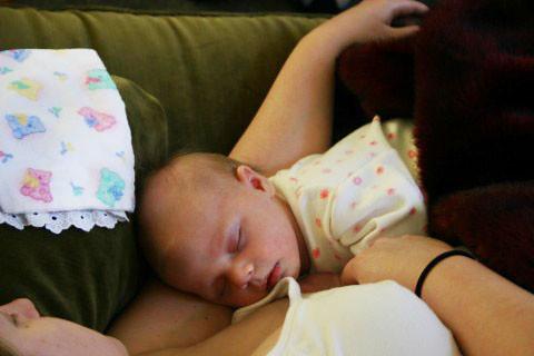 baby kyla sleeps