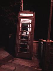 midnight (stonetemplepilot5) Tags: red midnight phonebox terregles kiklandsroad