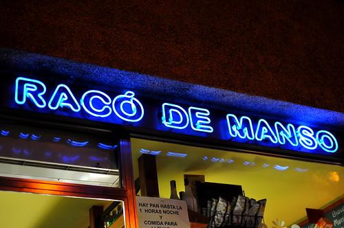 Raco De Manso - Barcelona