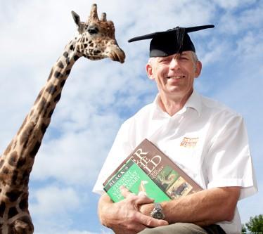 Director of Wildlife at West Midlands Safari Park, Bob Lawrence, wins graduate award