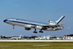 N318EA Eastern Air Lines (Bob Garrard) Tags: lines air mia lockheed eastern tristar l1011 kmia n318ea