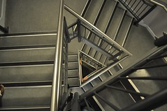 Stairs (crwilliams) Tags: hampshire portsmouth date:month=august date:day=15 date:hour=14 date:wday=sunday date:year=2010