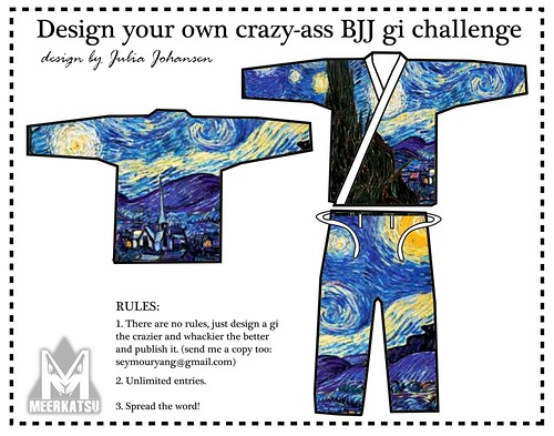 Starry Night BJJ gi