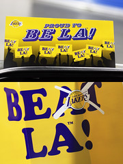 """223/365 """"Proud To Be L.A.!"""" (Taylor Greene Photography) Tags: sign 50mm lakers project365 niftyfifty canon40d"""
