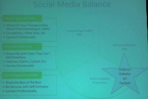 social media balance slide