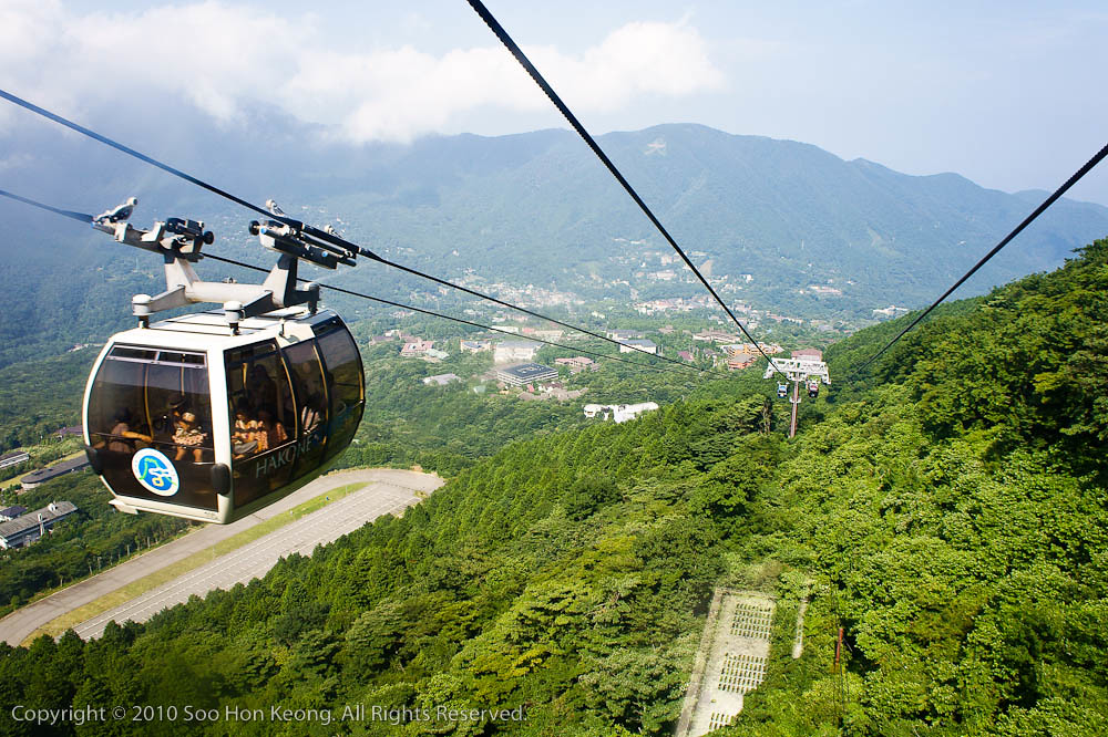 Cable Car Ride @ Hakone, Japan
