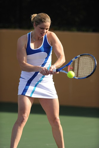 US Open 2010: Kim Clijsters Fila dress