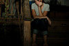 190:365 – The Silence (charamelody) Tags: girl backyard sitting sad bell quote steps literature silence porch depression jar sorrow sylvia plath
