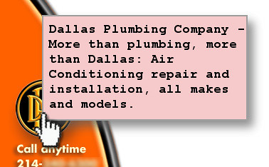Dallas Plumbing Company - Image ALT text keyword spamming