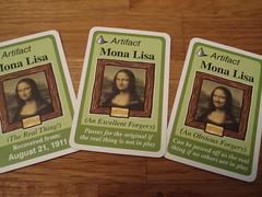 Mona Lisa Triptych
