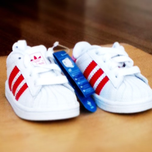 The first adidas