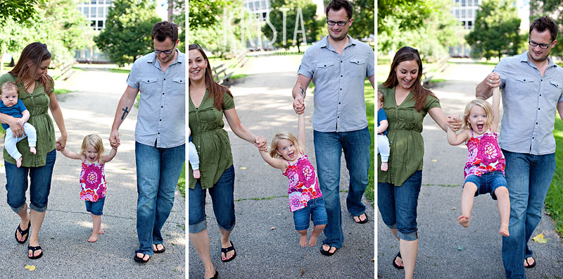 Family Portraits in Lincoln Park