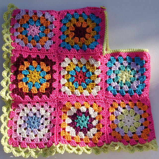 Pattern For A Granny Square Poncho | ThriftyFun