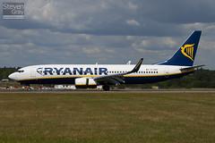EI-DWG - 33620 - Ryanair - Boeing 737-8AS - Luton - 100805 - Steven Gray - IMG_1146