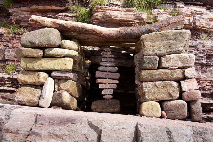 Heysham Rock Balance Shelter